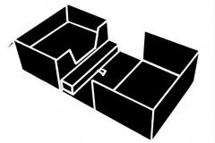 Double Charter Display Box